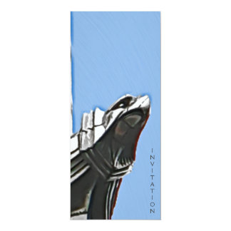 "Chrysler Building, NYC 4"" X 9.25"" Invitation Card"
