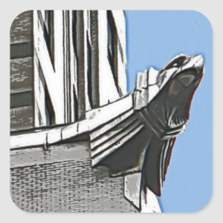 Chrysler Building, NYC Square Sticker