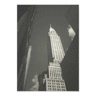 Chrysler Building NYC  Wedding Invite