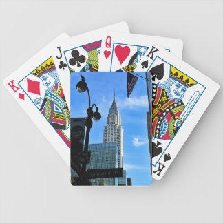 Chrysler Building Poker Deck