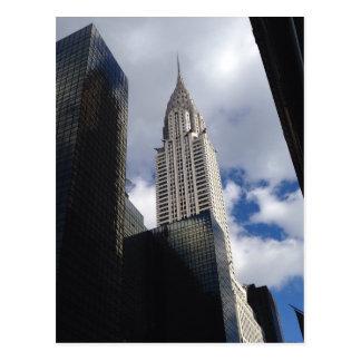 Chrysler Building Postcard