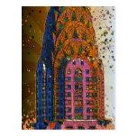 Chrysler Building Top Closeup #1 Post Card