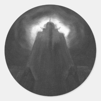 Chrysler Fog Round Sticker