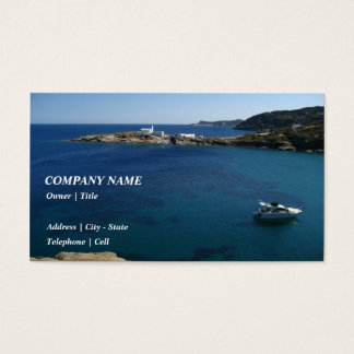 Chrysopigi – Sifnos Business Card