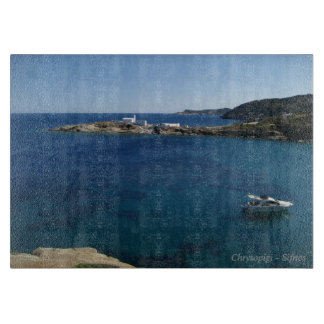 Chrysopigi – Sifnos Cutting Board