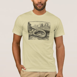 Chrysopoeia Ouroboros Serpent of Cleopatra T-Shirt