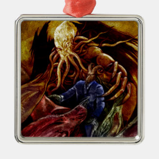Chthulhu Domine Metal Ornament