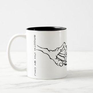 Chu Fingers Two-Tone Coffee Mug