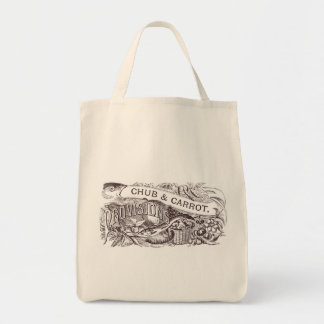 Chub & Carrot Provisions Vintage Artwork Tote Bag