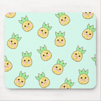 Chubbi Pineapple Pattern Mouse Pad