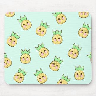 Chubbi Pineapple Pattern Mouse Pad