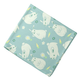 Chubby Bunny Pattern Bandana