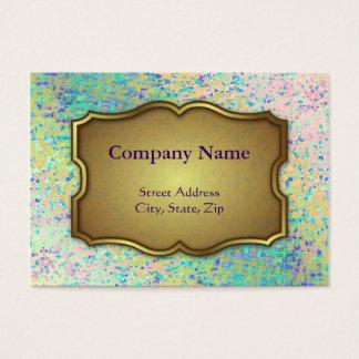 Chubby Business Card Informel Art Abstract