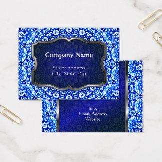 Chubby Business Card Mandala Mehndi Style G403