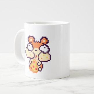 Chubby Cheeked Hamster Eating Pizza Pix 20 Oz Mug Jumbo Mug