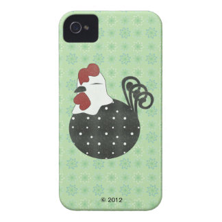Chubby Chicken iPhone 4 Case-Mate Cases