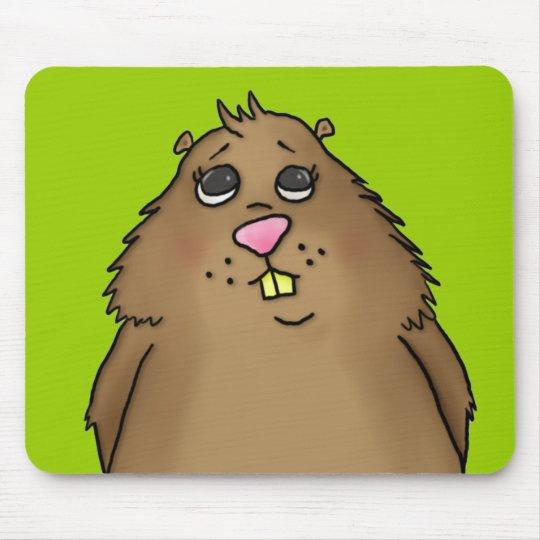 Chubby Hamster Mousepad