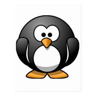 Chubby Penguin Postcard
