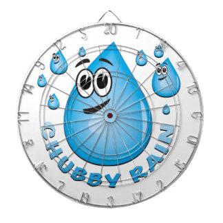chubby rain dartboards
