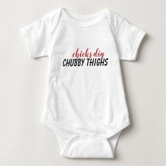 Chubby thighs baby body suit baby bodysuit