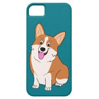 Chubby Welsh Corgi Cartoon iPhone 5 Cases