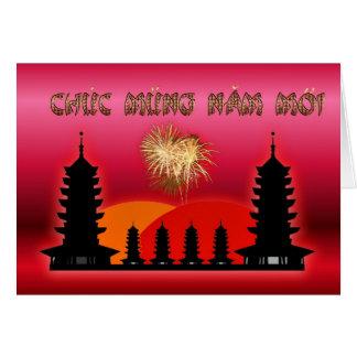 Chuc Mung Nam Moi Vietnamese New Year  Lunar Year Card
