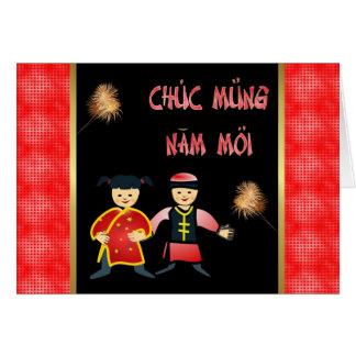 Chuc Mung Nam Moi Vietnamese New Year  Lunar Year Greeting Cards