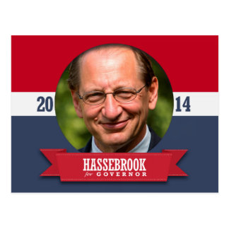 CHUCK HASSEBROOK CAMPAIGN POST CARD
