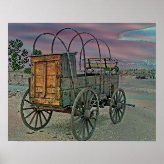 Chuck Wagon Poster/Print Poster