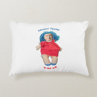 Chucky Donald Trump Doll Accent Pillow