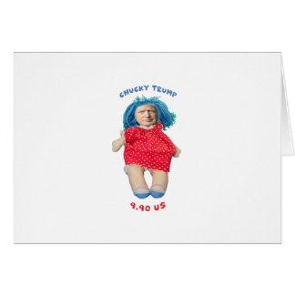 Chucky Donald Trump Doll Card