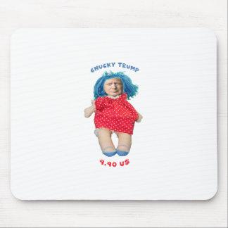 Chucky Donald Trump Doll Mouse Pad