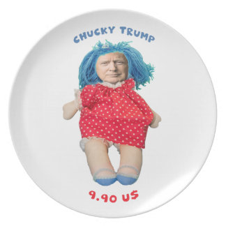 Chucky Donald Trump Doll Plate