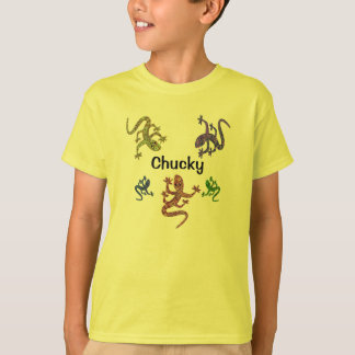 Chucky Salamander T-Shirt - 2 Sided Design