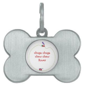 Chuga Chuga Chew Chew Loose Caboose Train Pet ID Tag
