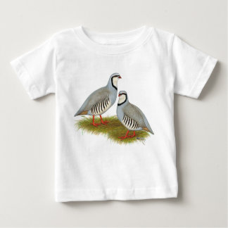 Chukar Partridge Pair Baby T-Shirt