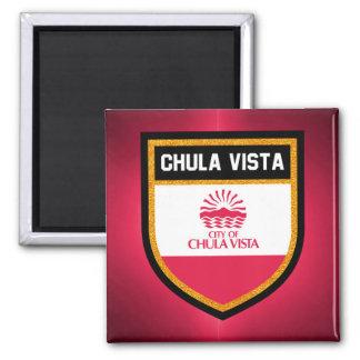Chula Vista Flag Magnet