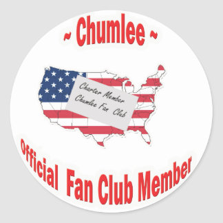 Chumlee-Fan-Club Classic Round Sticker