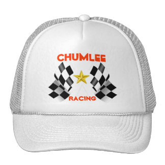 Chumlee Racing, flags, Star, Trucker Hat