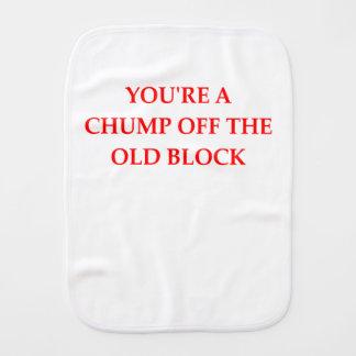 CHUMP BURP CLOTH