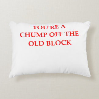 CHUMP DECORATIVE PILLOW