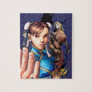 Chun-Li Vs. Vega Puzzle