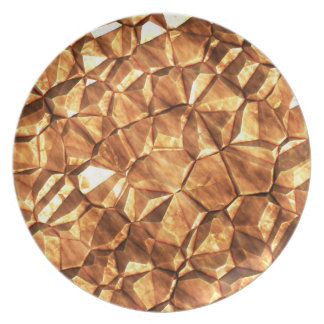 Chunks of Gold Nuggets Background Plate