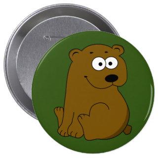 Chunky Bear Cub button