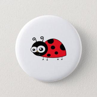 Chunky Cute Ladybug Ladybird Coccinellidae 2 Inch Round Button