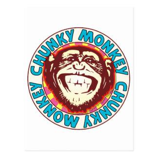 Chunky Monkey Postcard