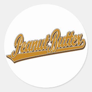 Chunky Peanut Butter Classic Round Sticker