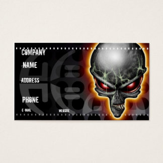 Chupacabra Alien Business Card
