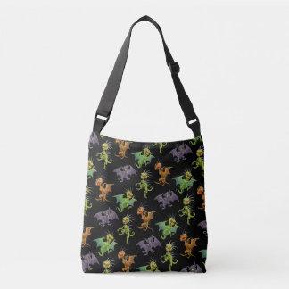 Chupacabras of Mexico pattern Crossbody Bag