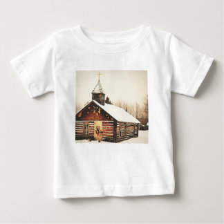 church and snow baby T-Shirt